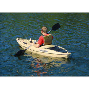 Sun Dolphin Journey 10' ss Sit On Angler Kayak, Brown