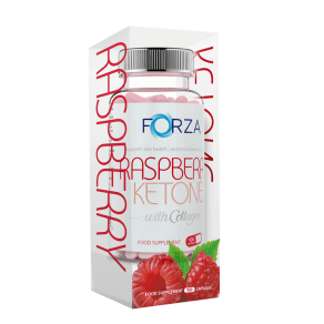 Forza Raspberry Ketone With Collagen 100 Capsules - 100capsules
