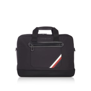 Tommy Hilfiger Easy Nylon Laptop Bag, Black