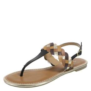Women's Venetian Braided Flat Sandal