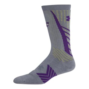 Boys' Ua Undeniable Crew Socks a Curry One Edition
