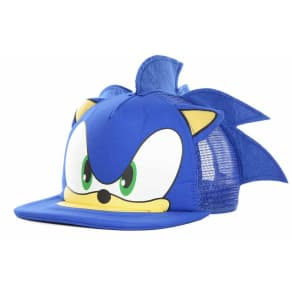 Sonic Sonic Big Face With Ears Truckers Cap