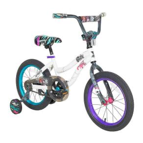 Monster High 16 Kids' Bike - White/Purple, Multi-Colored