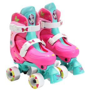 Disney Minnie Quad Skates - Pink/Blue, Pink/White