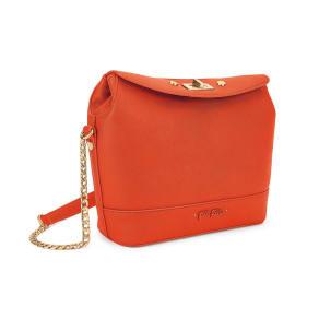 Uptown Beauty Medium Orange Bucket Bag
