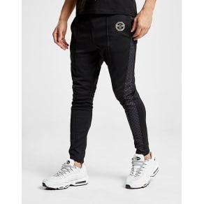 Creative Recreation House Pattern Track Pants - Black/Grey - Mens
