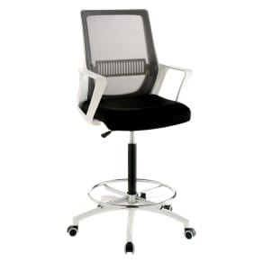 Jameson Modern Ergonomic Office Chair White - Homes: Inside + Out