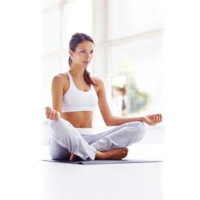 Shock Athletic Yoga Towel Mat, Gray