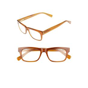 Men's Eyebob Style Guy 52mm Reading Glasses - Light Brown