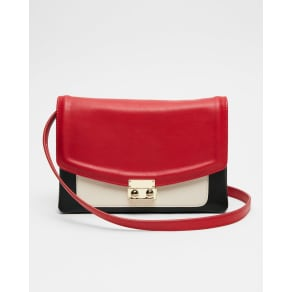 Express Womens Color Block Crossbody Bag