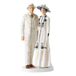 Royal Doulton Downton Abbey Lord and Lady Grantham