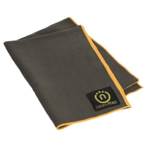 Lifeline Yoga Mat Towel - Gray/Yellow