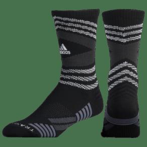 Adidas Speed Mesh Team Crew - Black/White/Light Grey/Onix