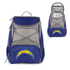 Nfl Los Angeles Chargers Picnic Time Ptx Backpack Cooler - Navy