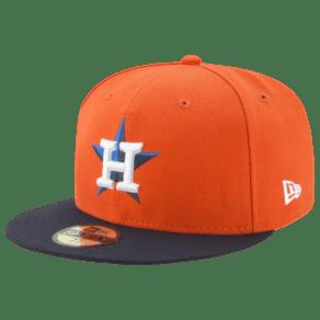 Houston Astros New Era Mlb 59fifty Authentic Cap - Mens - Orange