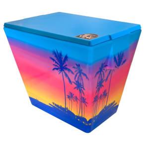 Yew Stuff 20 Liter Cooler - Sunset, Blue