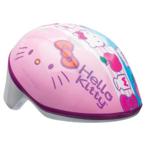 Hello Kitty Milk and Apples Toddler Helmet - Pink/Blue