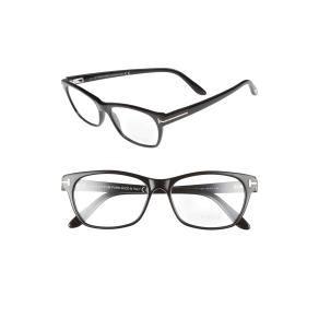 Women's Tom Ford 54mm Optical Glasses - Shiny Black