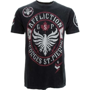 Affliction Affliction Georges St. Pierre Seal T-Shirt