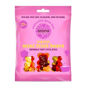 Biona Organic Mini Fruit Bears 75g