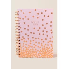 Write It Down Spiral Notebook