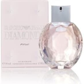 Womens Emporio Armani Diamonds Rose Eau De Toilette -  Pink