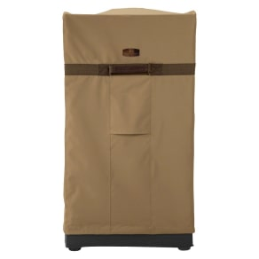 Hickory Square Smoker Cover Tan - Large, Brown