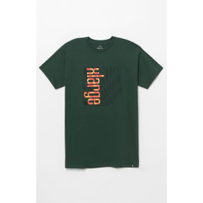 Xlarge Mens Illusions T-Shirt - Green
