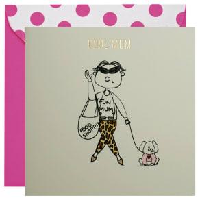 Susan O'Hanlon Cool Mother's Day Card