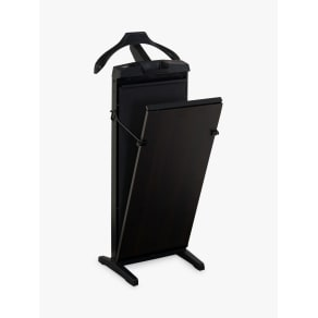 Corby 7700 Trouser Press, Black-Brown Sorano Oak