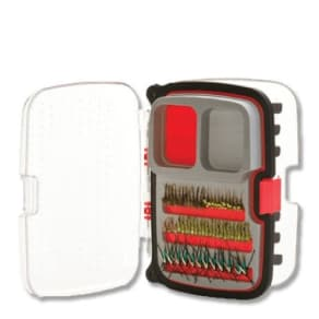 3m Company Scientific Anglers Max Nymph/Dry 446 Fly Box Medium Red