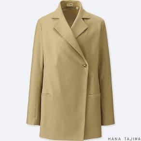 Women Hana Tajima Tencel Long Jacket