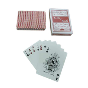 Trademark Global 10-Pcc02r1 Red Deck-Club Special King of King Playing Cards