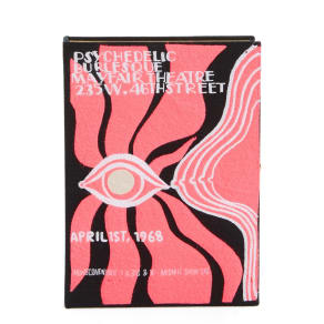 Olympia Le-Tan Psychedelic Burlesque Book Clutch -