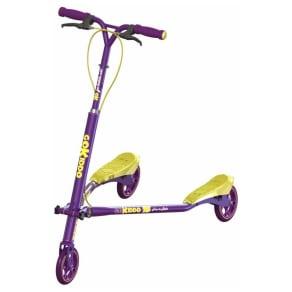 Go-Kiddo Trikke T6 Carving Scooter, Purple