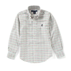 Brooks Brothers Little/Big Boys 4-20 Non-Iron Oxford Simple Check Woven Sportshirt