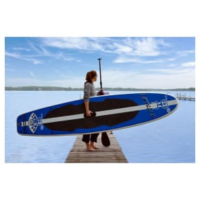 Rave Sports Outback Inflatable Stand Up Paddle Board, Multi-Colored