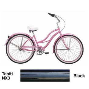 Micargi Black Tahiti Nx3 Beach Cruiser Female