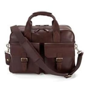Harrison Overnight Business Bag Smooth Chocolate