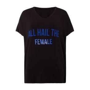 Biba Gym Hail Female Tee Shirt, Black
