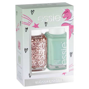 Essie Nail Polish Unicorn Sparkles Duo Kit