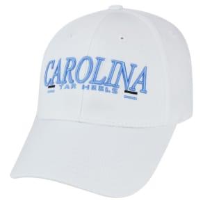 Baseball Hats Ncaa North Carolina Tar Heels White