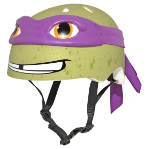Teenage Mutant Ninja Turtles Donatello Child Helmet - Green/Purple