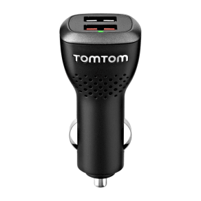 Tomtom  9uuc.001.22 Gps Sat Nav Dual Charger - For Sat Nav & Usb Devices