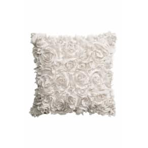 Cushion Cover With Flowers