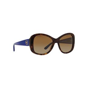 Ralph Lauren Brown Rl8144 Butterfly Sunglasses