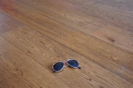 Prime Engineered Oak Borgo Stained Brushed UV Lacquered 14/2.5mm By 189mm By 1860mm