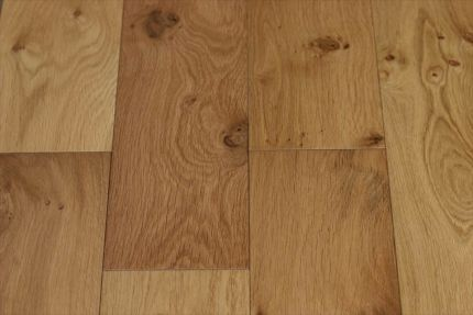 Natural Engineered Oak Hardwax Oiled 20/5mm By 240mm By 2200mm