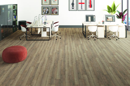 Alhambra Oak Laminate Flooring 12mm By 159mm By 1380mm