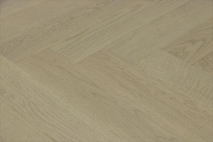 Prime Engineered Flooring Oak Herringbone Silver Stone Brushed UV Matt Lacquered 14/3mm By 98mm By 790mm